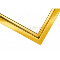 """กรอบรูปอลูมิเนียม สีทอง ขนาด 0.375 นิ้ว (3/8"""")"""