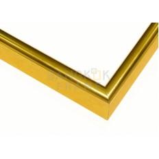 """กรอบรูปอลูมิเนียม สีทอง ขนาด 0.625 นิ้ว (5/8"""")"""