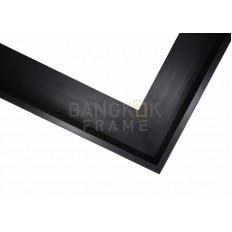 กรอบรูปอลูมิเนียม สีดำ ขนาด 0.25 นิ้ว 10 ฟุต