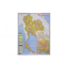กรอบรูปแผนที่ประเทศไทย-PN Map